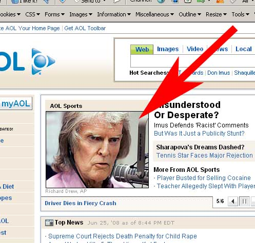 Don Imus on AOL. What were they thinking?
