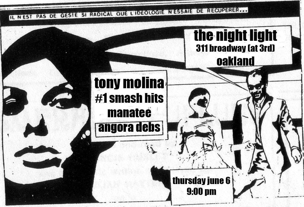 Manatee at the Nightlight in Oakland on Thursday, 6/6