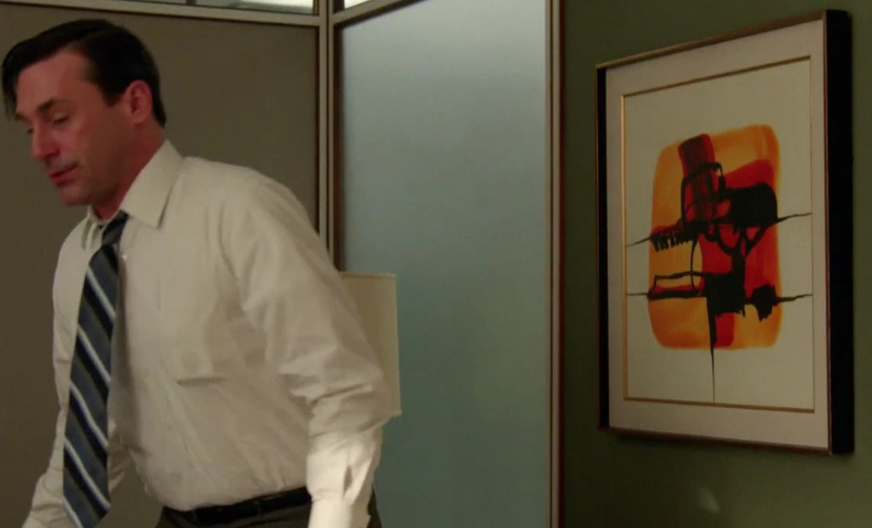 don draper office. I Guess This Is Really A Temporary Space For Don Since Lou In His Office. Maybe All These Pieces Were Chosen By Lane Pryce When He Used Office Draper